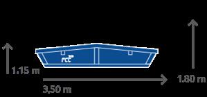Kontajner 5 m³